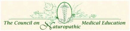 Council on naturopathic medical education agency for programs resulting in