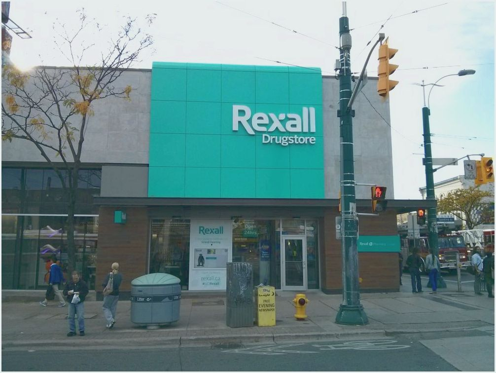 Rexall pharmacy locations & hrs in toronto, ontario, canada Greenwin Square Toronto