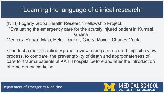 Worldwide emergency medicine fellowships To start