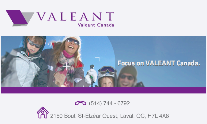 Valeant canada constantly on the build